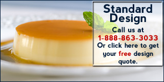 Call 1-888-863-3033 for more information about our Standard Design Package.